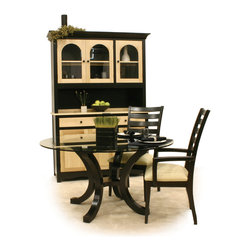 Homestead Furniture Dining Rooms - Homestead Furniture  The Dutch Hutch is a sure bet with it's graceful curves. Pair it with other pieces from the Yorkshire collection. Choose from a variety of paints, stains and hardwoods to create the look you want. http://www.homesteadfurnitureonline.com/hutches_dutch.html