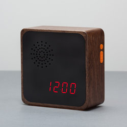 "Alba ""Media Edition"" Walnut Clock"