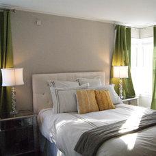 Eclectic Bedroom by EDYTA & CO. INTERIOR DESIGN
