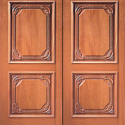 "Prehung Double Door, Hand Carved 2-Panel in Mahogany - SKU#    Carved-610_2Brand    AAWDoor Type    ExteriorManufacturer Collection    Carved & MansionDoor Model    Door Material    WoodWoodgrain    MahoganyVeneer    Price    2840Door Size Options    2(30"") x Height"" (5'-0"" x 6'-8"")  $02(32"") x Height"" (5'-4"" x 6'-8"")  $02(36"") x Height"" (6'-0"" x 6'-8"")  +$202(42"") x Height"" (7'-0"" x 6'-8"")  +$3802(36"") x Height"" (6'-0"" x 7'-0"")  +$4602(30"") x Height"" (5'-0"" x 8'-0"")  +$10002(32"") x Height"" (5'-4"" x 8'-0"")  +$10002(36"") x Height"" (6'-0"" x 8'-0"")  +$10202(42"") x Height"" (7'-0"" x 8'-0"")  +$1020Core Type    SolidDoor Style    ColonialDoor Lite Style    Door Panel Style    2 Panel , Hand Carved Panel , Raised Moulding , Raised PanelHome Style Matching    Mediterranean , Victorian , Old World , Elizabethan , Pueblo , SuburbanDoor Construction    True Stile and RailPrehanging Options    PrehungPrehung Configuration    Double DoorDoor Thickness (Inches)    1.75Glass Thickness (Inches)    Glass Type    Glass Caming    Glass Features    Glass Style    Glass Texture    Glass Obscurity    Door Features    Door Approvals    Door Finishes    Door Accessories    Weight (lbs)    850Crating Size    25"" (w)x 108"" (l)x 52"" (h)Lead Time    Slab Doors: 7 daysPrehung:14 daysPrefinished, PreHung:21 daysWarranty    1 Year Limited Manufacturer WarrantyHere you can download warranty PDF document."