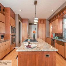Contemporary Kitchen by W2Design, LLC