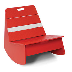 Loll Designs - Loll Racer Sidecar Table - Loll Designs - All Loll Design products are made from 100% recycled high density polyethylene (plastic milk jugs). Since 2005, Loll Designs has kept over 18 million milk jugs out of landfills.