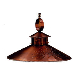 Lanternland - Country Kitchen Pendant Style Hanging Copper Light by Lanternland - The Country Kitchen Pendant Hanging Light by Lanternland, shown in Antique Brass, is handcrafted in America from high quality brass or copper and is designed to last for decades. This simple elegant style is perfect for traditional homes, cabins, vacation homes and lake houses. Available in your choice two sizes and seven unique finishes, The Country Kitchen Pendant is versatile enough to suit a wide variety of homes.