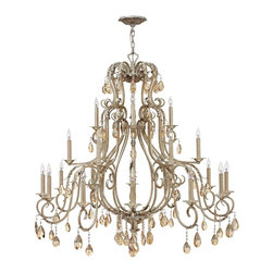 Hinkley Lighting - Carlton 21 Light Large Chandelier - Hinkley Lighting's mission is simple: to bring you cool classics that suit the way you live today.