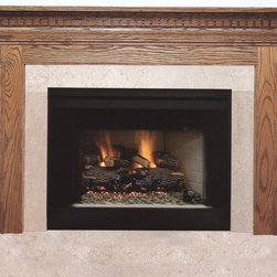 Wood Mantel - A time proven winner in our wide selection of wood mantels.