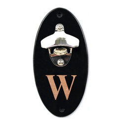 Monogram Wall-Mounted Bottle Opener