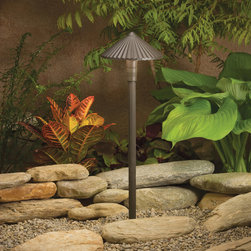Kichler Lighting - Kichler Lighting 15418AZT Landscape 12v 1 Light Pathway Lighting in Textured Arc - This 1 light Landscape Path Light from the Landscape 12V collection by Kichler will enhance your home with a perfect mix of form and function. The features include a Textured Architectural Bronze finish applied by experts. This item qualifies for free shipping!