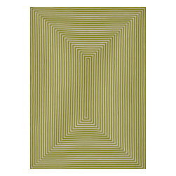 """Loloi - Loloi Indoor Outdoor IO-01 (Lime) 7'10"""" Round Rug - Hand-braided in China of 100% polypropylene, the In/Out collection offers a fun and simplistic look. This easy-to-place collection works nicely in an interior space or outdoors, and is available in an array of both neutral and vibrant colors."""