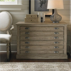 Sligh Barton Creek Johnson 2 Drawer Lateral File Cabinet - The classic map drawer effect appears to present multiple shallow drawers when in truth, the two file drawers on ball bearing slides with anti-tip prevention, will organize a multitude of hanging files. Add the Johnson Deck for display and storage.