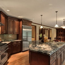Traditional Kitchen Cabinetry by Grand JK Cabinetry Inc
