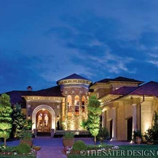 Villa Sabina - Tuscan Home Plans - Home Plan Styles - Sater Design Collection Pl
