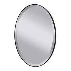 Murray Feiss - Murray Feiss MR1126ORB Johnson Oil Rubbed Bronze Mirror - Murray Feiss MR1126ORB Johnson Oil Rubbed Bronze Mirror