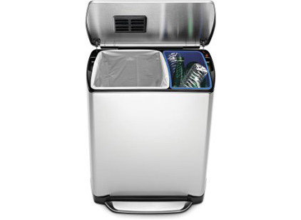 Modern Trash Cans by simplehuman