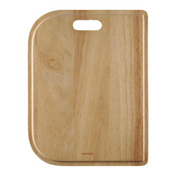 "Houzer - Houzer CB-2500 Cutting Board 13.25"" x 17.125"" x 0.75""T - Houzer hardwood kitchen accessory Cutting Board. For all models except contempo epicure novus nouvelle medallion designer, club premier, premier reflection, specialty series, MES-3221, MGD-3120, STS-1400 ,STC-2200, PNG-2400, PNC-3200"