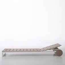 Contemporary Outdoor Chaise Lounges by Switch Modern