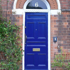 Traditional House Numbers by The Fanlight Number Co