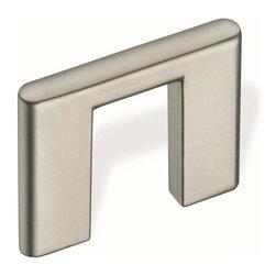 Schwinn Hardware - Schwinn Hardware Bridge Pull Wide Stems 1 1/4 Inch Ctc Satin Nickel - Schwinn Hardware Bridge Pull Wide Stems 1 1/4 Inch Ctc Satin Nickel