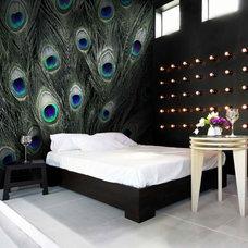 Modern Wallpaper by Rebecca Bowen