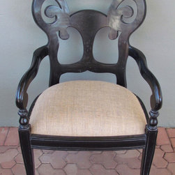 mahogany arm chair - view this item on our website for more information + purchasing availability: http://redinfred.com/shop/category/furnish/dining-desk-chairs/mahogany-arm-chair/
