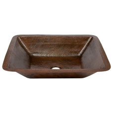 Rustic Bathroom Sinks by Lucido Copper