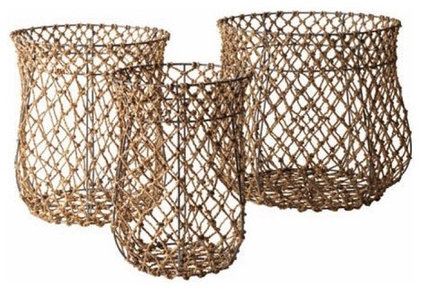 contemporary baskets by Zinc Door