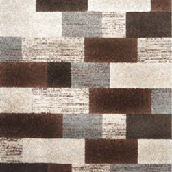 """Home Dynamix - Home Dynamix Rug, Gray, 5' 2"""" x7' 2"""" - The Rasta Collection from Home Dynamix"""