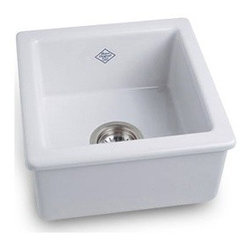 Shaws Original Fireclay Prep Sink From Rohl - We are big fans of this line of sinks-the matching prep sink is perfect to go along witht the classic farm sink. We spec these sinks for clients regularly.