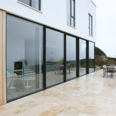 Contemporary Patio by IQ Glass UK