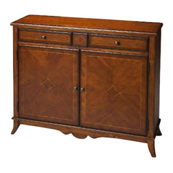 Butler Specialty - Butler Specialty Console Cabinet -3019011 - Butler products are highly detailed and meticulously finished by some of the best craftsmen in the business.