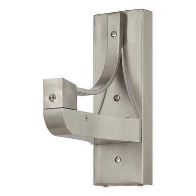 "Savoy House - Savoy House 12"" Sleep Fan Wall Bracket, Satin Nickel - 12-SF-BRACKET-SN - E-Z wall bracket converts table top Sleep Fan into a wall fan in seconds. Sleep Fans generate a soothing sound (red noise) that promotes relaxation. Sleep deeper. Sleep better."