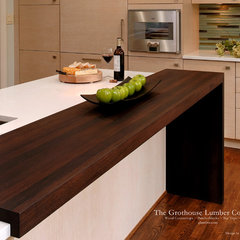 contemporary kitchen countertops by The Grothouse Lumber Company