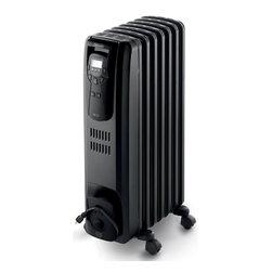 DeLonghi - Safeheat Digital Oil-Filled Radiator - Features: