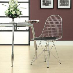 Eiffel Dining Chair, Black -