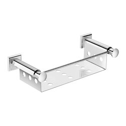 WS Bath Collections - WS Bath Collections Kubic Class Bath Soap Dish - Features: