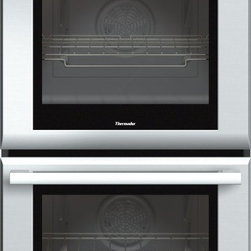 Thermador - 27 inch Masterpiece® Series Double Oven MED272JS - With True Convection and 14 cooking modes, our 27-inch Masterpiece Double Oven gives you the convenience of cooking several dishes in each oven at the same time without flavor transfer. Learn more about the features and benefits of our double wall ovens.