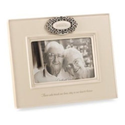 "Amscan, Inc. - Grasslands Road Everything's Relative in Loving Memory 4-Inch x 6-Inch Picture F - Grasslands Road Everything's Relative 4"" x 6"" Picture Frame has an antique white finish with a ceramic glaze. Holds a 4"" x 6"" photo in the landscape position."