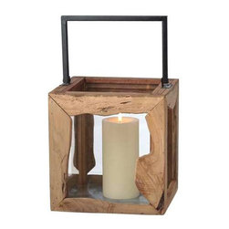 MIDWEST CBK - Large Organic Pillar Lantern - Large Organic Pillar Lantern. Shop home furnishings, decor, and accessories from Posh Urban Furnishings. Beautiful, stylish furniture and decor that will brighten your home instantly. Shop modern, traditional, vintage, and world designs.