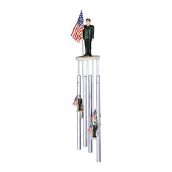 GSC - Wind Chime Round Top Army with Us Flag Hanging Garden Porch Decoration - This gorgeous Wind Chime Round Top Army with Us Flag Hanging Garden Porch Decoration has the finest details and highest quality you will find anywhere! Wind Chime Round Top Army with Us Flag Hanging Garden Porch Decoration is truly remarkable.