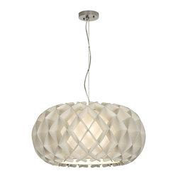 Trend Lighting - Trend Lighting TP8546 Honeycomb Large Oval Pendant - Trend Lighting TP8546 Honeycomb Large Oval Pendant