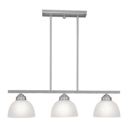 Joshua Marshal - Brushed Nickel Island Light - Brushed Nickel Island Light
