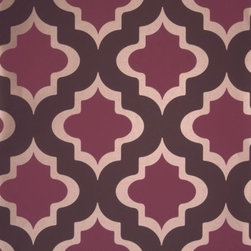 """Kasbah, Couture Wallcoverings at Clarke & Clarke - Pattern Repeat:26.5 cms (10.5"""")"""