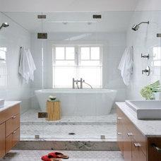 After: Modern Wet Room - Bathroom Makeovers