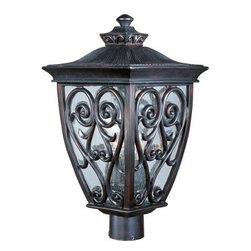 Maxim Lighting - Maxim Lighting 40120CDOB Newbury VX 3-Light Outdoor Pole/Post Lantern - Features