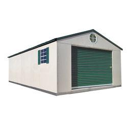 Buildings Available - Temloc 12'x24' Deluxe Steel Building
