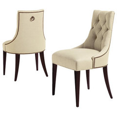 traditional dining chairs and benches by Baker Furniture
