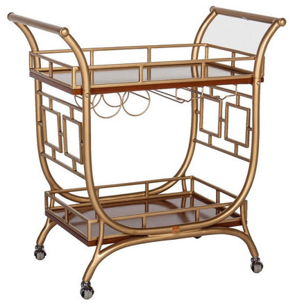 traditional bar carts by Society Social