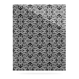 """Kess InHouse - Mydeas """"Diamond Illusion Damask Black & White"""" Pattern Metal Luxe Panel (16"""" x 2 - Our luxe KESS InHouse art panels are the perfect addition to your super fab living room, dining room, bedroom or bathroom. Heck, we have customers that have them in their sunrooms. These items are the art equivalent to flat screens. They offer a bright splash of color in a sleek and elegant way. They are available in square and rectangle sizes. Comes with a shadow mount for an even sleeker finish. By infusing the dyes of the artwork directly onto specially coated metal panels, the artwork is extremely durable and will showcase the exceptional detail. Use them together to make large art installations or showcase them individually. Our KESS InHouse Art Panels will jump off your walls. We can't wait to see what our interior design savvy clients will come up with next."""