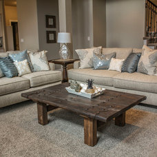 Craftsman Family Room by Symphony Homes
