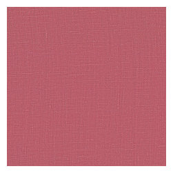 Dark Pink Lightweight Linen Fabric - Lighweight linen blend with characteristic light slubs in rose pink.Recover your chair. Upholster a wall. Create a framed piece of art. Sew your own home accent. Whatever your decorating project, Loom's gorgeous, designer fabrics by the yard are up to the challenge!