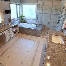 Contemporary Bathroom by SH interiors